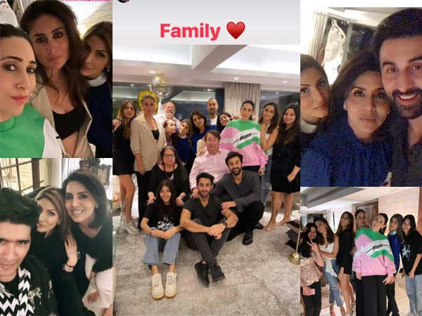 Neetu Kapoor brings in her birthday with the whole Kapoor family
