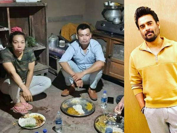 R Madhavan shocked to see Mirabai Chanu's humble picture from her house