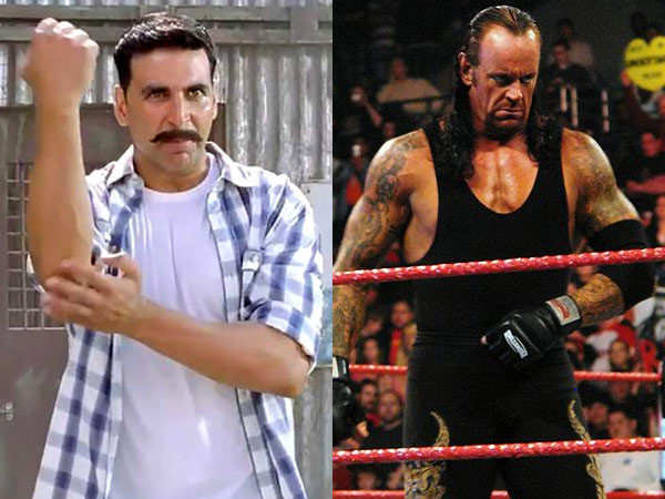 The Undertaker challenges Akshay Kumar for a real match