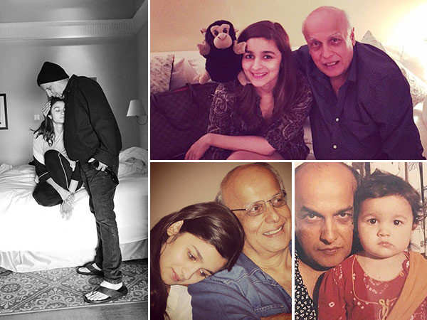 Father's Day special: Adorable pictures of Alia Bhatt with her father Mahesh Bhatt