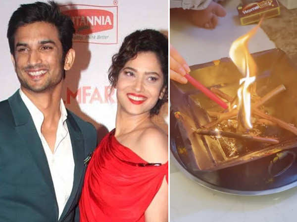 Ankita Lokhande Reportedly Holds A Havan In Sushant Singh Rajput's Name