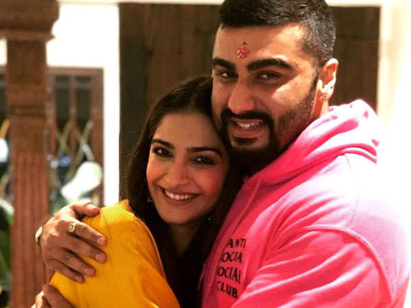 Arjun Kapoor got into a fight for Sonam Kapoor when they were in school