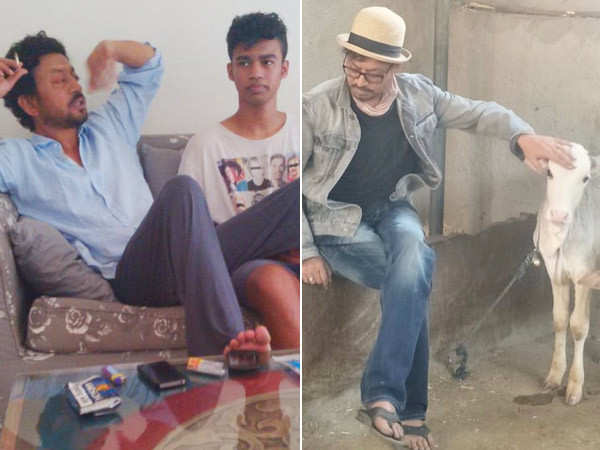 Babil Khan misses Irrfan Khan, shares some rare clicks of his late father