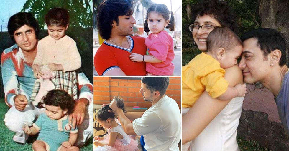 Cutest pictures of B-town dads with their little ones