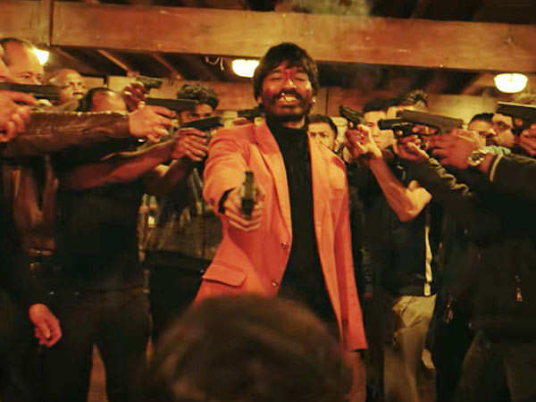 Dhanush is all about guns and glory in Jagame Thandhiram trailer