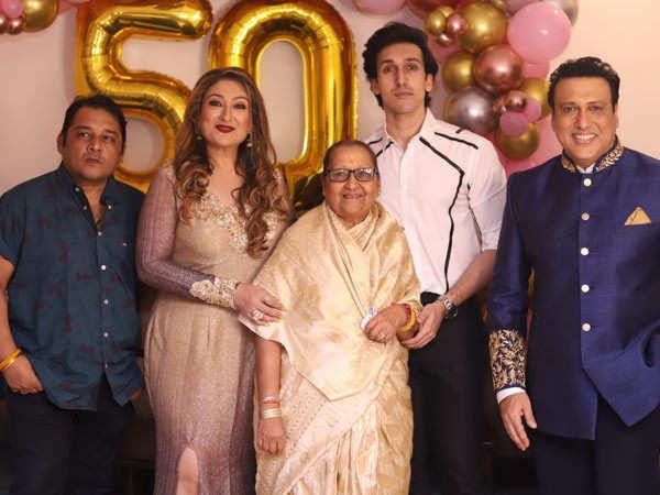 In Pictures: Govinda's Wife Sunita Ahuja Turns 50