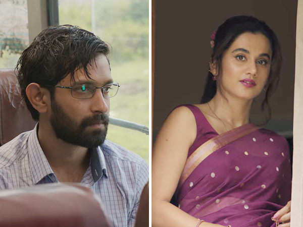 Haseen Dillruba: Taapsee Pannu, Vikrant Massey shine in intriguing trailer