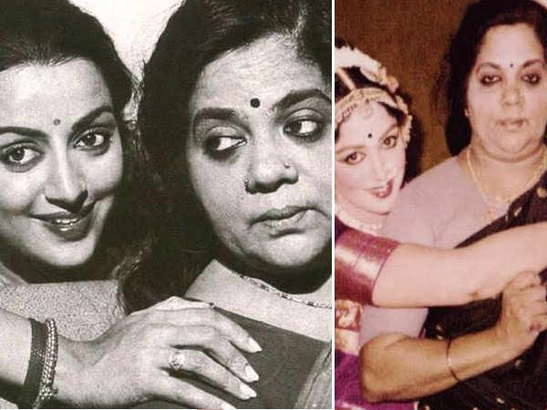 Hema Malini dedicates a post to her late mother Jaya Chakravarthy