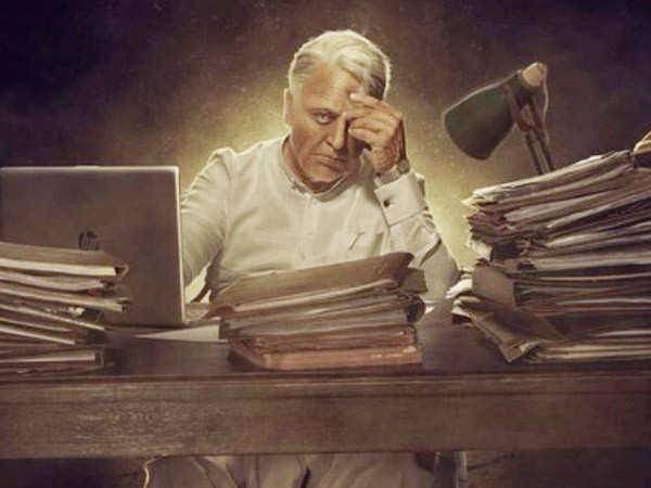 Here's an update on Kamal Haasan's look in Indian 2