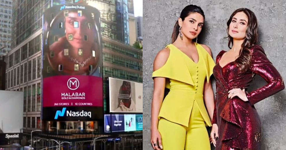 Kareena Kapoor Khan makes it to the Times Square Billboard in NYC