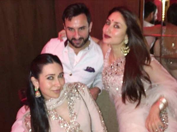 Kareena Kapoor Khan gives a glimpse of Karisma Kapoor's birthday celebration