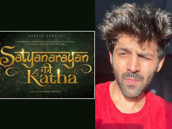 Kartik Aaryan teams up with Sajid Nadiadwala for an epic romance called Satyanarayana Ki Katha