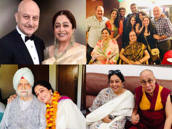 Anupam Kher wishes Kirron Kher with a special birthday post