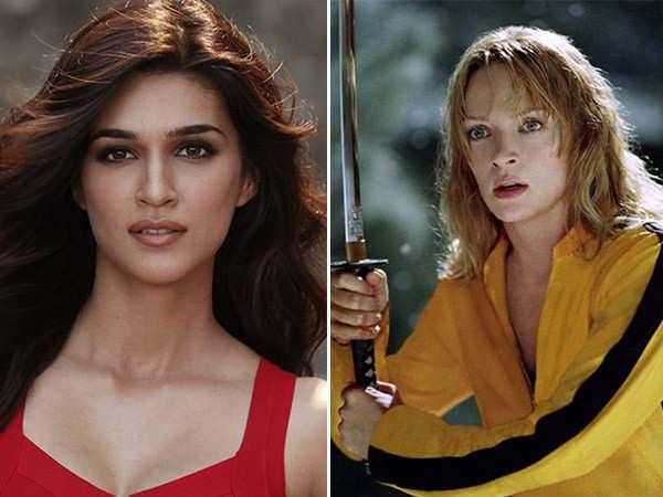 Anurag Kashyap to make a Hindi remake of Kill Bill with Kriti Sanon
