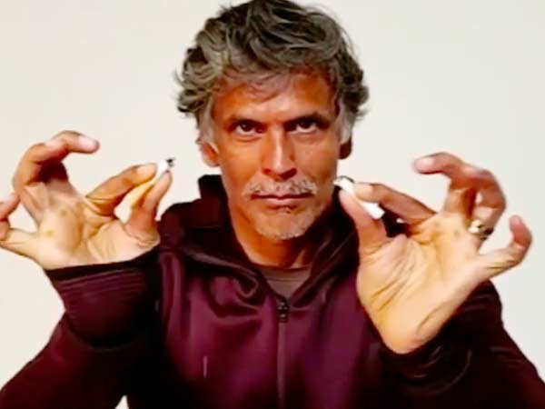 """""""I Was Soon Smoking 20-30 Cigarettes A Day,"""" Milind Soman On Overcoming his addiction to cigarettes"""