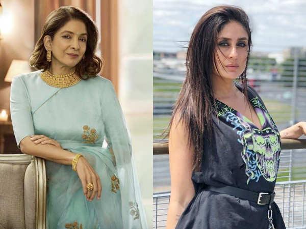 Video: Neena Gupta chats with Kareena Kapoor Khan during the launch of Sach Kahun Toh