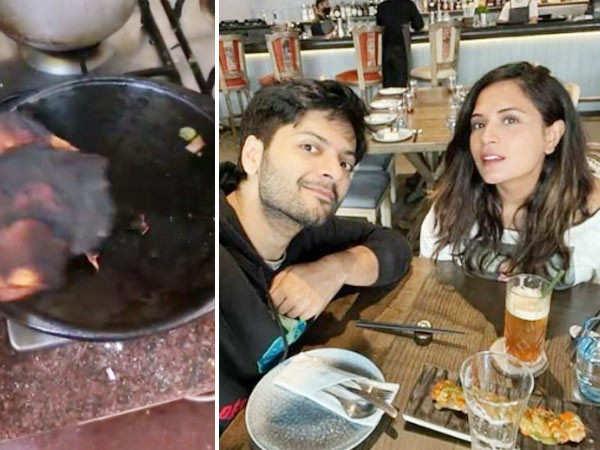 Richa Chadha Burns Her Rotis, Netizens Joke That Boyfriend Ali Fazal Will Have To Eat Them Now
