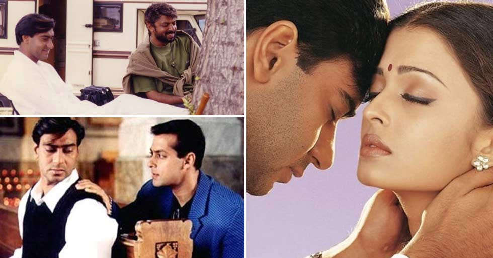 Salman Khan Ajay Devgn celebrate 22 years of Hum Dil De Chuke Sanams release