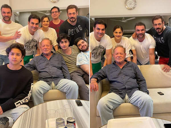 Salman Khan's pictures with his dad and siblings from Father's Day are unmissable