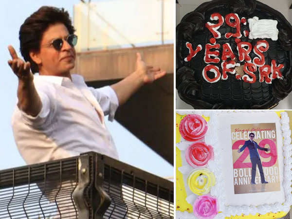 Here's how Shah Rukh Khan's fans celebrated his 29th year in Bollywood