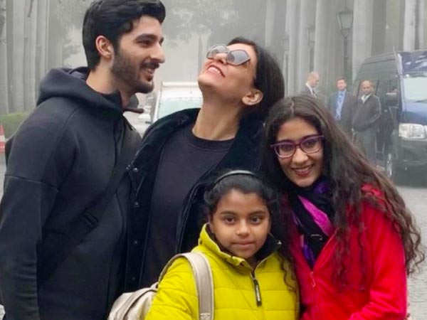 Sushmita Sen's daughter Renee opens up about Rohman Shawl, her first short film and more