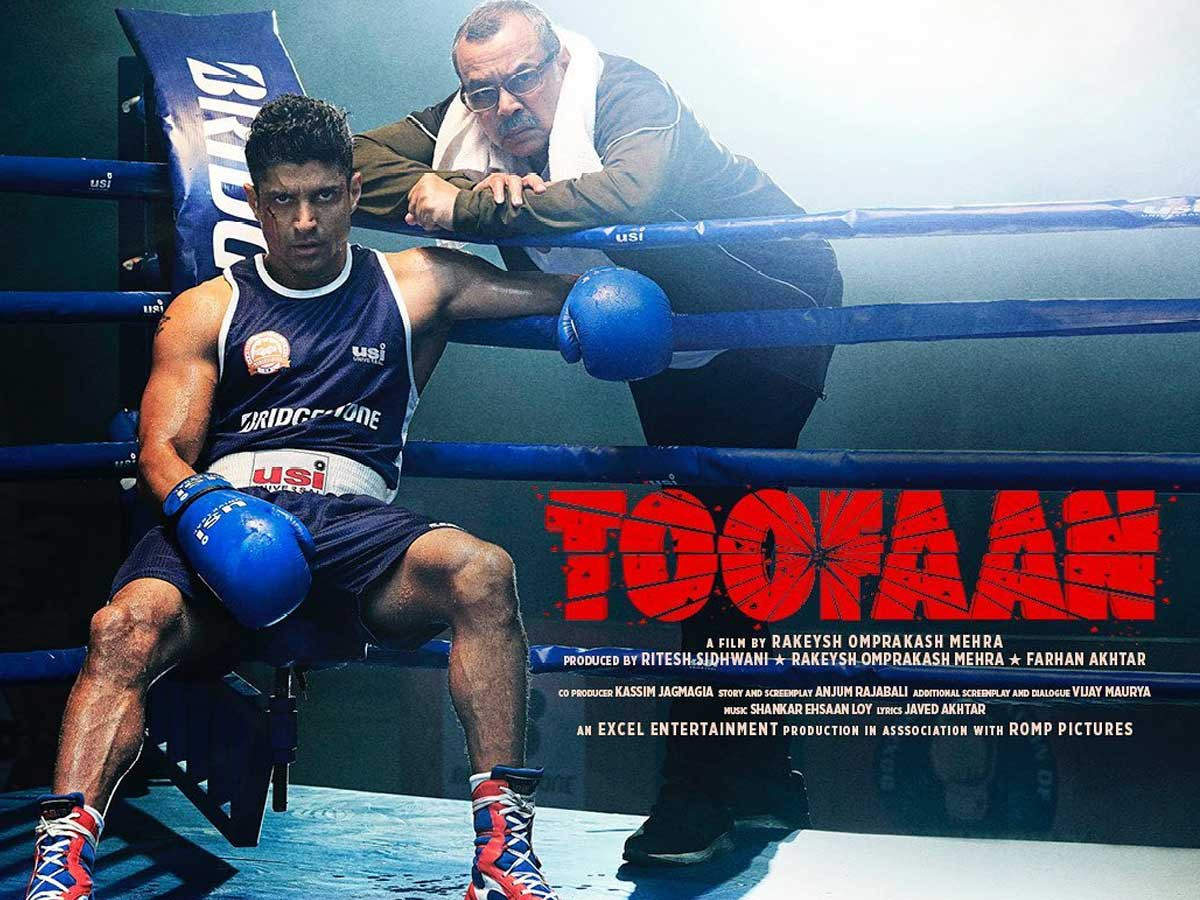 Toofaan trailer starring Farhan Akhtar and Mrunal Thakur to release on this  day | Filmfare.com