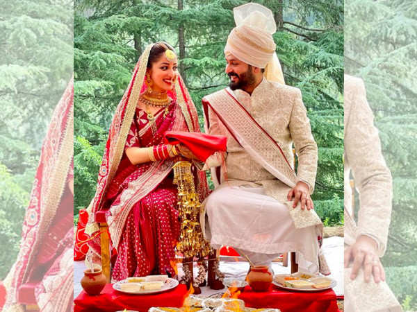 Yami Gautam and Aditya Dhar tied the knot in an intimate ceremony