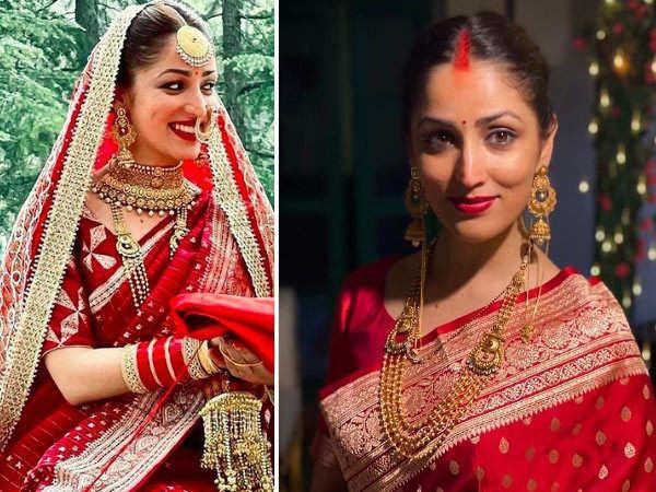 Yami Gautam stuns in her latest wedding photos
