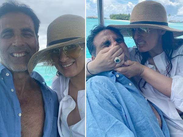 Photos: Akshay Kumar And Twinkle Khanna Are Holiday In Style