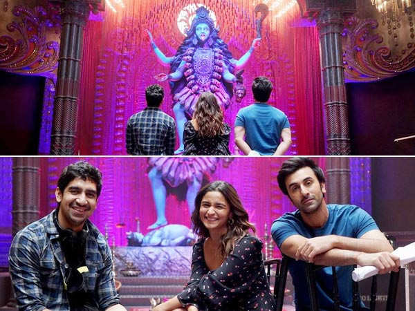 Alia Bhatt shares fresh pictures with Ranbir Kapoor from the sets of Brahmastra