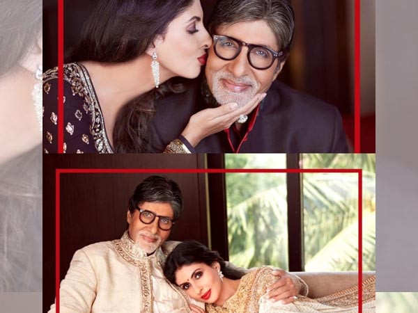 Amitabh Bachchan wishes daughter Shweta Bachchan with a special post