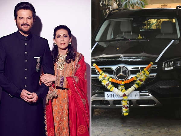 Anil Kapoor gifts a swanky new car to wife