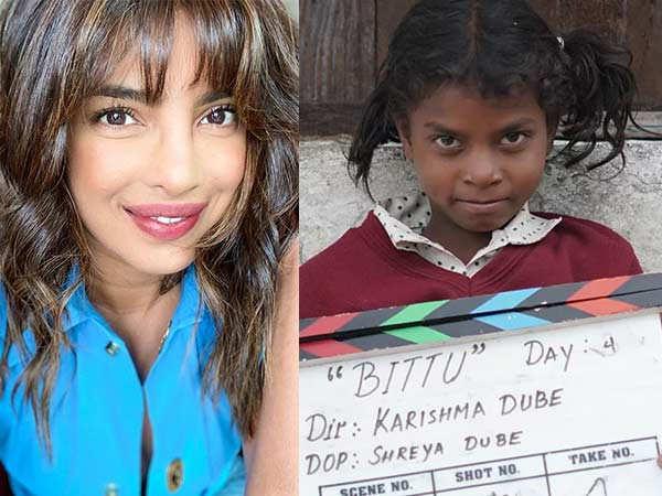 Priyanka Chopra Lends Support To Initiative Collecting Funds For Bittu's Lead Cast