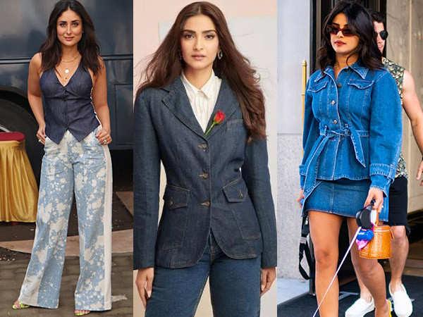 Bollywood Beauties Rocking The Denim On Denim Trend