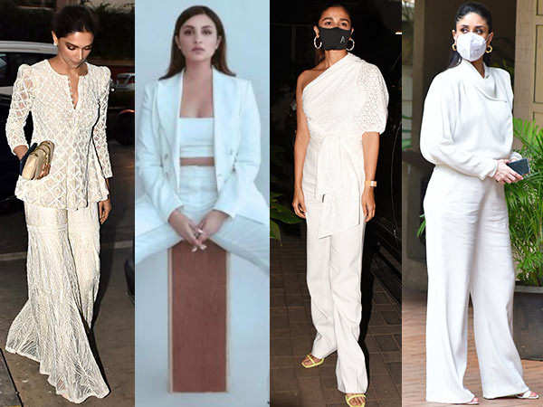 Bollywood Celebrities Express Their Love For All-White Outfits