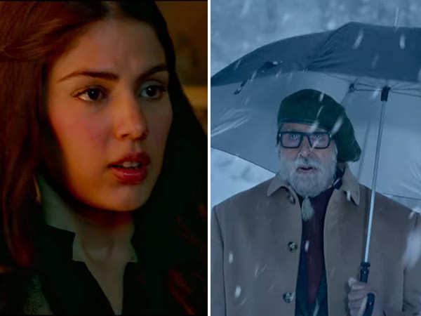Amitabh Bachchan, Emraan Hashmi, Rhea Chakraborty star in Chehre's first trailer