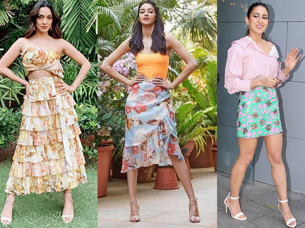 Cues from B Town Beauties To Style Your Floral Skirts His Spring