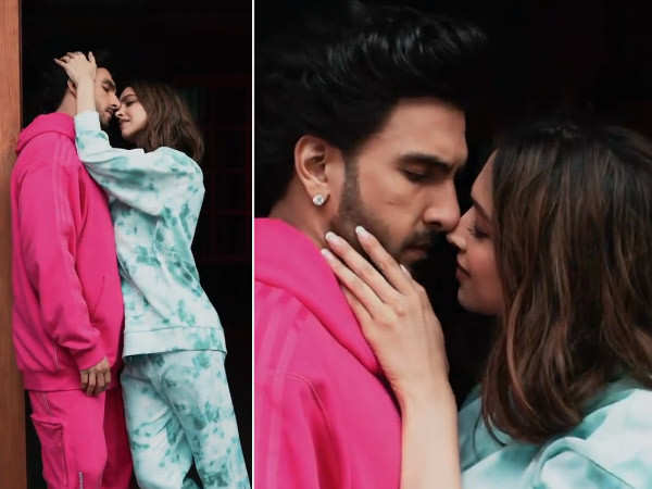 Deepika Padukone & Ranveer Singh are always up for Insta challenges