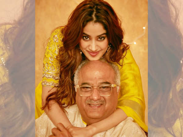 Here's what Janhvi Kapoor has to say about her father Boney Kapoor's acting debut