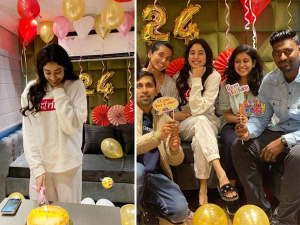 In pictures: Janhvi Kapoor brings in her birthday with her team