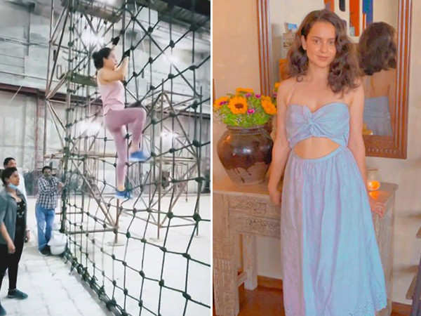 Kangana Ranaut does some intense army training for Tejas