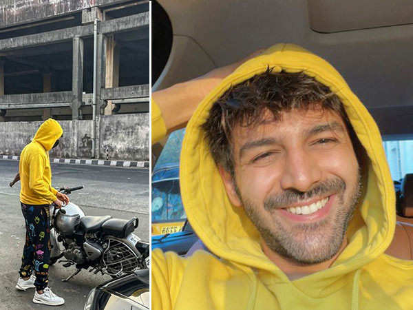 Here's how Kartik Aaryan Makes Even Busy Monday Mornings Look Cool And Super-interesting