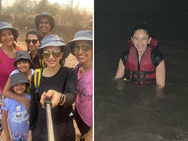 Rakul Preet shares glimpses from her Goa holiday and it's all things fun and fitness