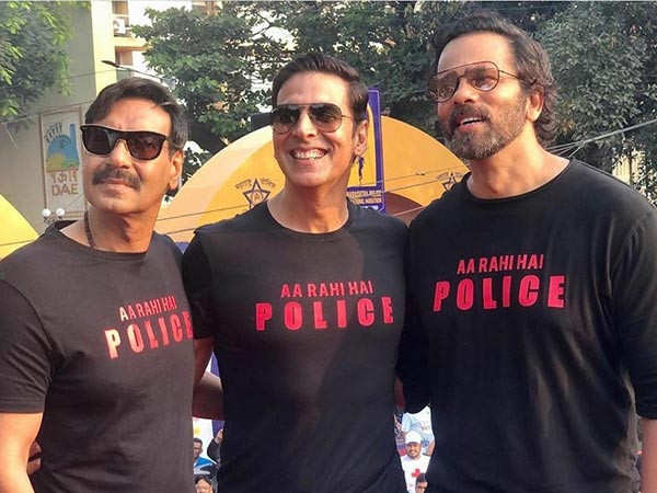 Ajay Devgn and Akshay Kumar have special birthday message for Rohit Shetty