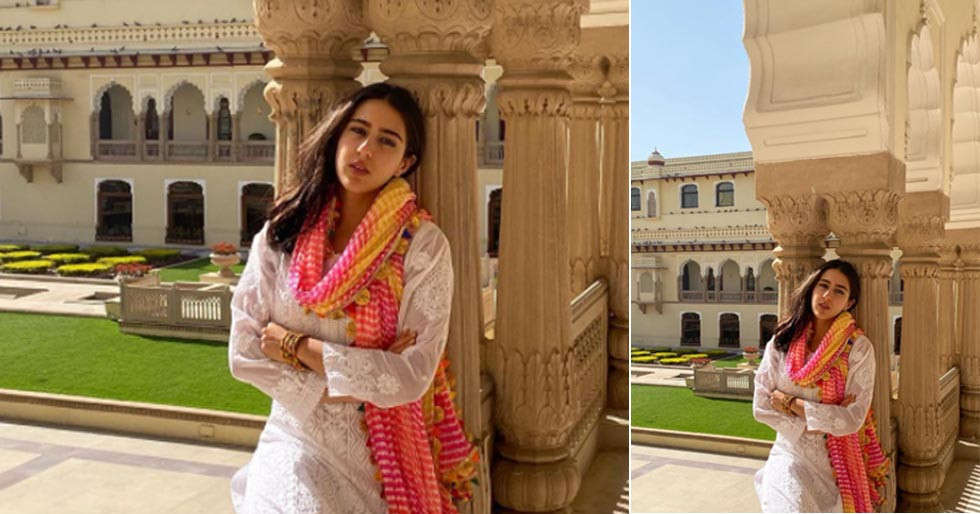Check out Sara Ali Khans images from her Jaipur vacation