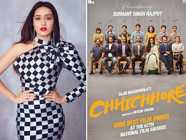 Shraddha Kapoor has a sweet note to celebrate Chhichhore's win at the National Awards