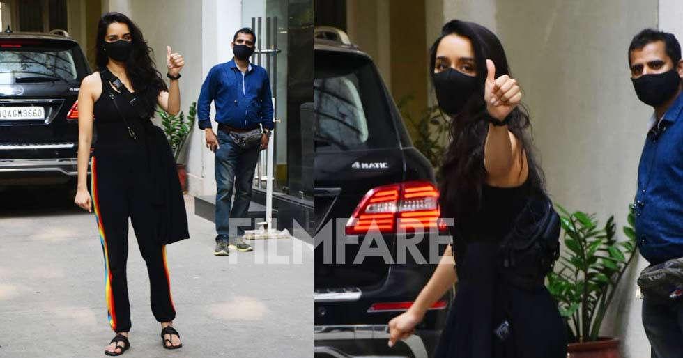 Shraddha Kapoor clicked at sunny super sound in Juhu