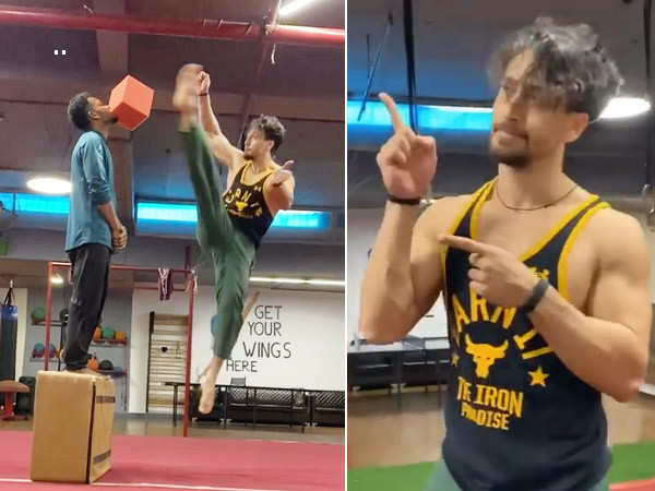 Tiger Shroff's latest stunt will make you gasp