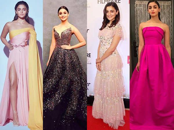 Top Alia Bhatt Dresses Worn On The Red Carpet