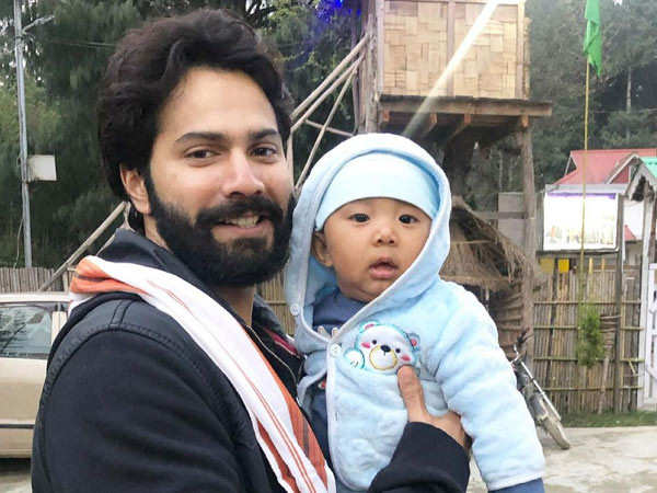 This video of Varun Dhawan playing with a baby in Arunachal Pradesh is adorable